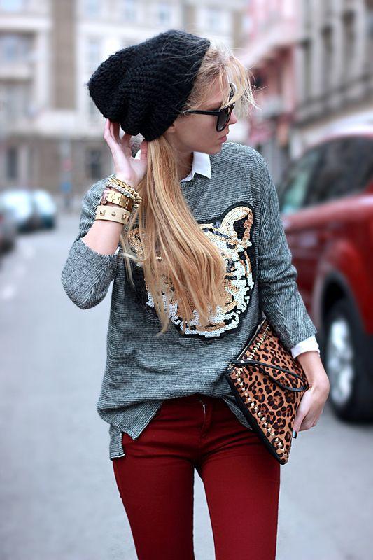 #leopard - ♡ - #Prints #Imprime #Pantalon #Fashion #Clothes #Womensfashion #Mode #Shirt #Animalprints #Fashionista #Shoes #Heels #Outfit #Style #Streetstyle #Streetfashion #Accessories #Accessoires #Trendy #Chic #Highfashion #Vintage #Vogue