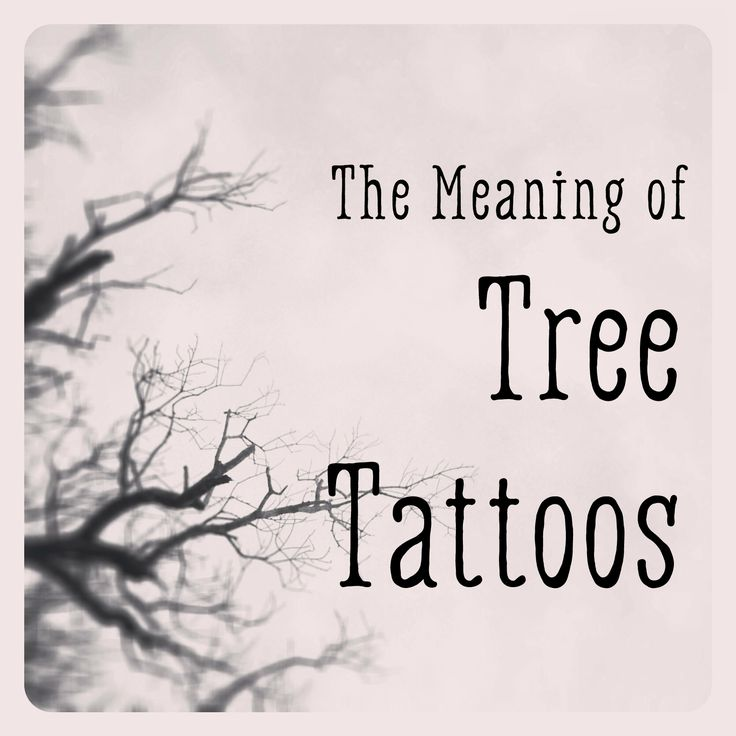 The Meaning of Tree Tattoos