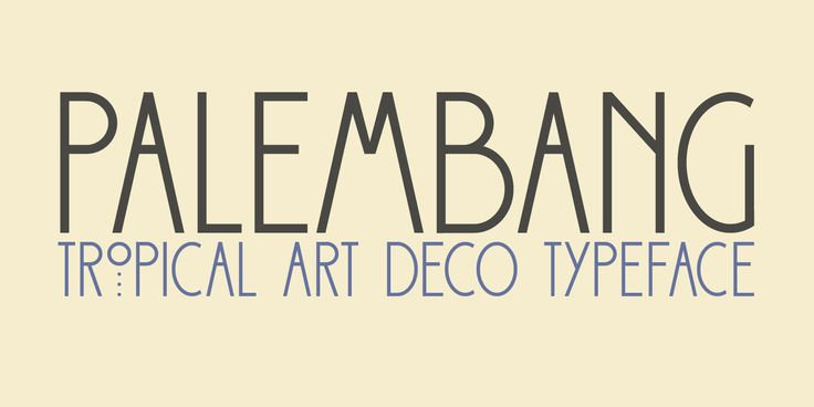 70% Off Palembang ☞ https://www.hypefortype.com/catalog/product/view/id/29452/category/454/ #font #sale