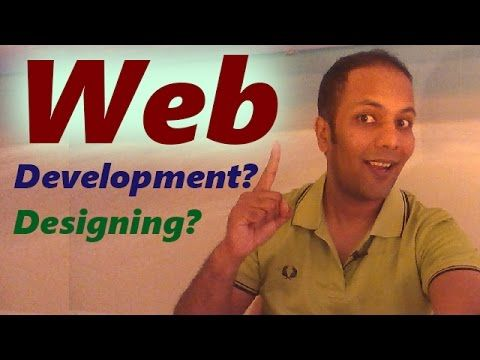 Difference between web designing and web development in Hindi / Urdu