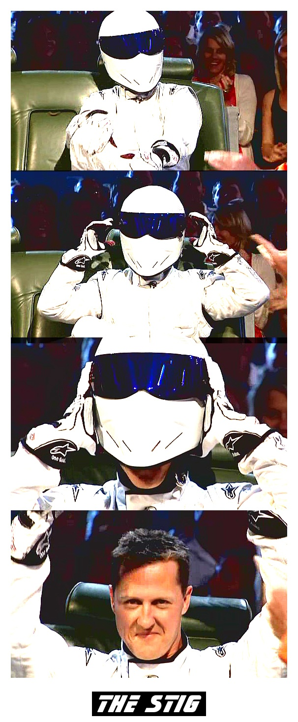 And the Stig is...