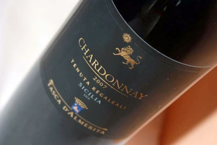 chardonnay tasca d'almerita #Sicily