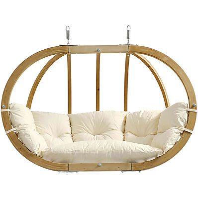 Casa Esterni Amache Poltrona Pensile Globo Royal Chair Natura Amazonas in Giardino e arredamento esterni, Arredamento da esterno, Dondoli | eBay