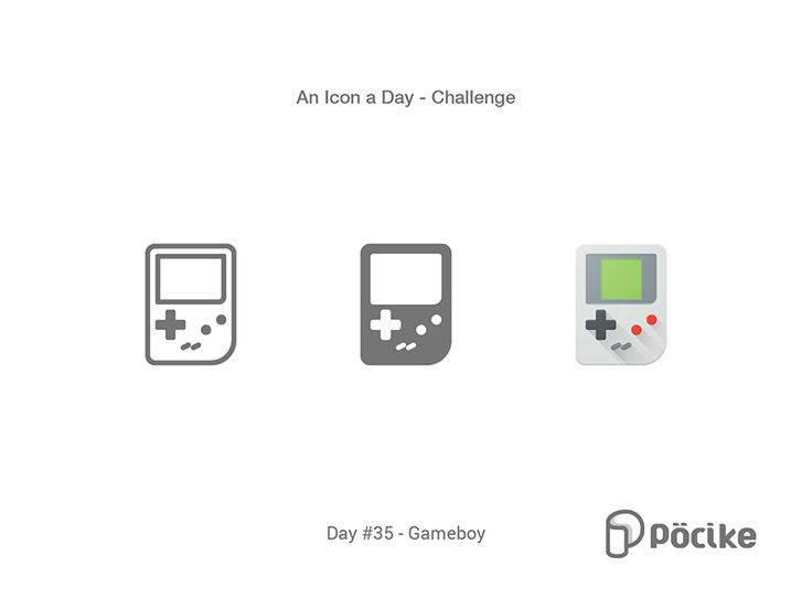 Icon Challenge Day 35 Gameboy