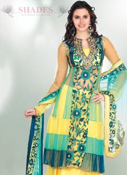 New Neck Designs for Kurti, Neck Design for Churidar Salwar Kameez, Pakistani Neck Designs, Indian Neck Design all are available at: http://www.shadesandyou.com/product-category/readymade-suits/  #PakistaniSuits #AnarkaliSalwarKameez #PakistaniSalwarKameez #BuyKurtisOnline