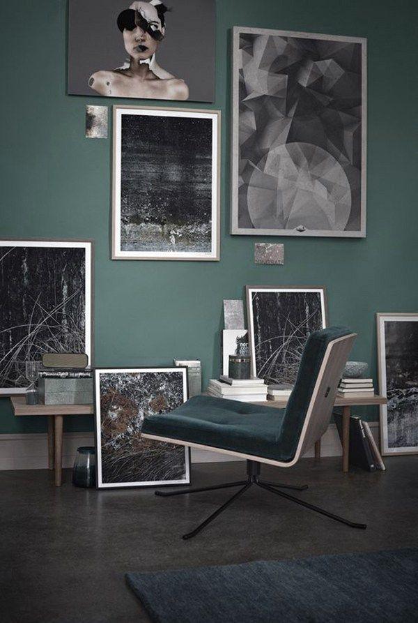 Die 38 besten Bilder zu G R E E N C O auf Pinterest Juwel Töne - wandfarben wohnzimmer grun