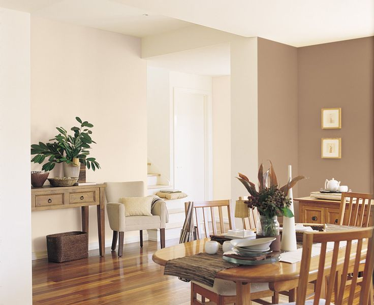 Love The Warm Neutrals   Project Gallery   Dulux Dining: Warm Cinnamon