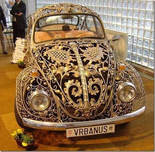 Lace VW beetle! I love it!!