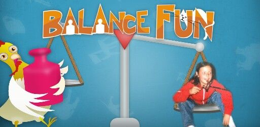 Balance fun - Great game to teach children about heavy and ligh obejcts. Place the objects and animals on weight. Find out who is heavier and who is lighter. Combine objects and animals of the same weight.