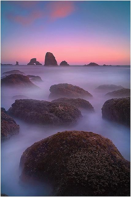 Indian Beach Twilight Affair, Oregon