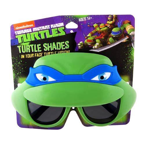 Teenage Mutant Ninja Turtles Leonardo Mask Sun-Staches - Sun-Staches - Teenage Mutant Ninja Turtles - Eyewear at Entertainment Earth
