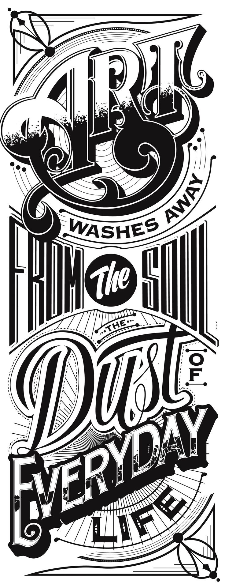 Typography Mania #204 | Abduzeedo Design Inspiration