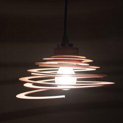 Spirallampe Bald erhältlich in meinem Onlineshop - coming soon! https://coucoufo.vega.uberspace.de/shop/#h=327-1499607062219