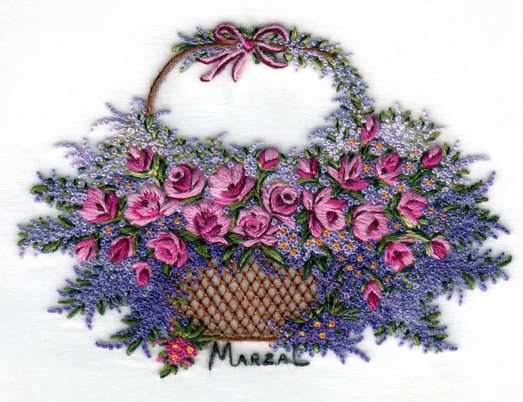 Absolutely gorgeous hand embroidery work by Pilar Marzal