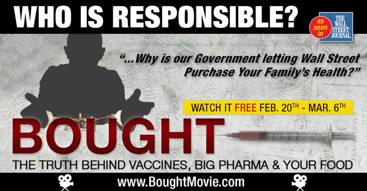 New BOUGHT Documentary reveals insidious truth behind Vaccines, GMO's & Big Pharma.