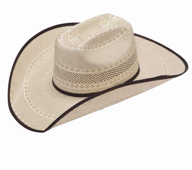 Twister Tan Ivory Bound Edge 20X Shantung Western Hat T73669