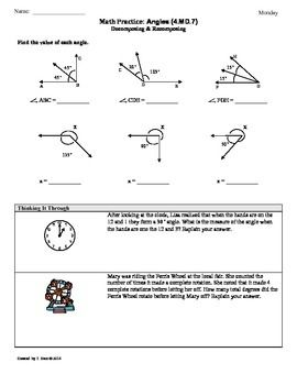 17 best images about angles on pinterest word problems common cores and smart boards. Black Bedroom Furniture Sets. Home Design Ideas