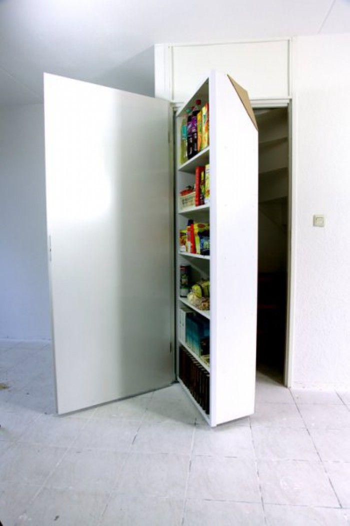 Inzetkast, een extra kast in je kast, dat is nog eens handig!!!