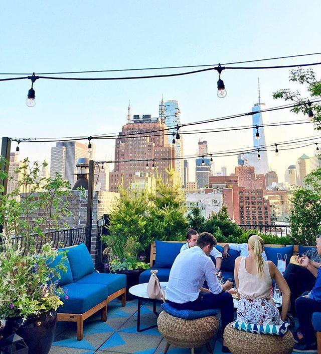 Thompson Hotel rooftop, Soho, NYC. #WLFKtravelAPP