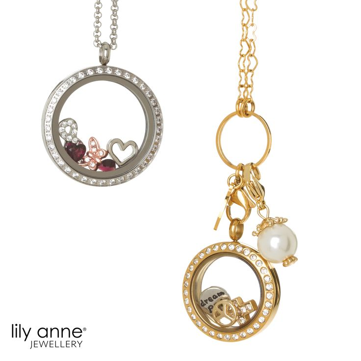 Check out our beautiful range of Personalised Lockets today at www.lilyannejewellery.com.au today!