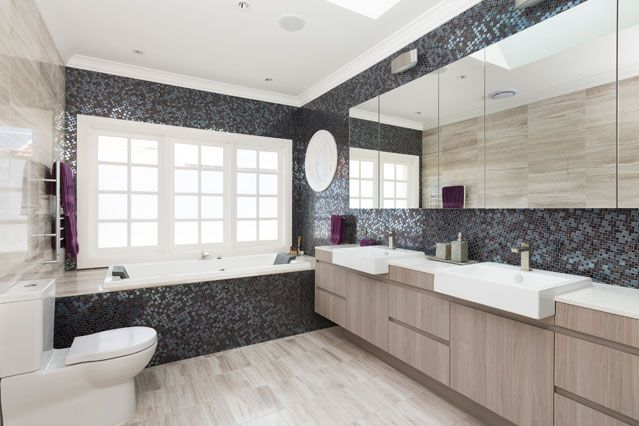 Modern Bathroom - Custom Home