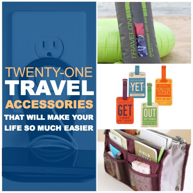 21 Travel Accessories That Will Make Your Life So Much Easier.  Some of these are actually worth getting your hands on. =)