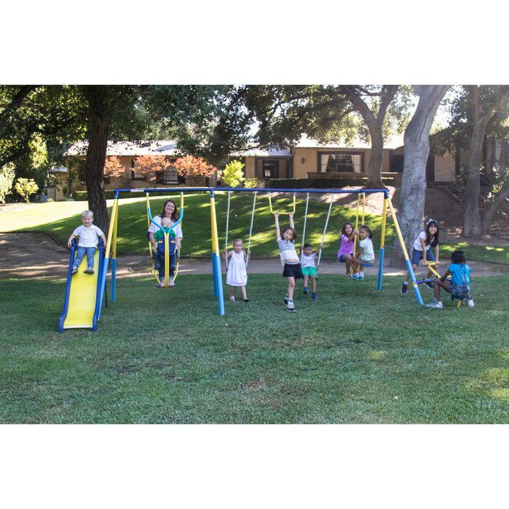Playground Sets For Backyards Toddler Swing Set Outdoor Fun Playset #Generic