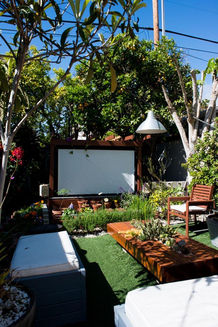 31 best backyard ideas images on pinterest outdoor movie