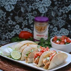Slow Cooker Chicken Tacos with Fresh Pico de Gallo and Baked Taco Shells Allrecipes.com