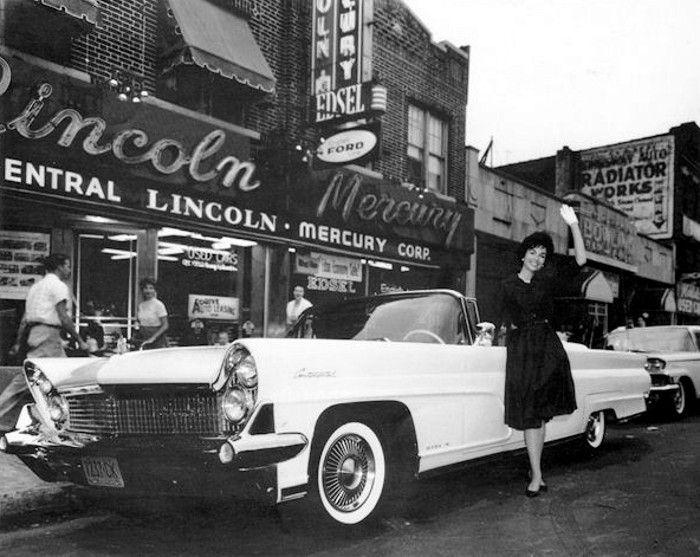 1959 Coney Island, New York Lincoln Mercury Dealer