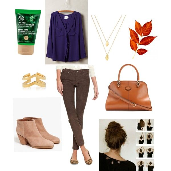 Fall college outfit