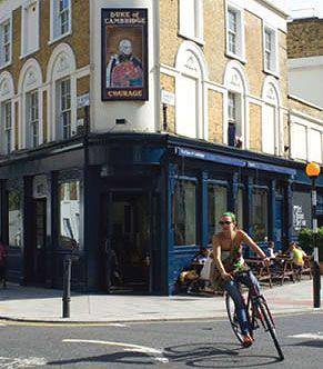Duke of Cambridge, organic gastropub - London, England