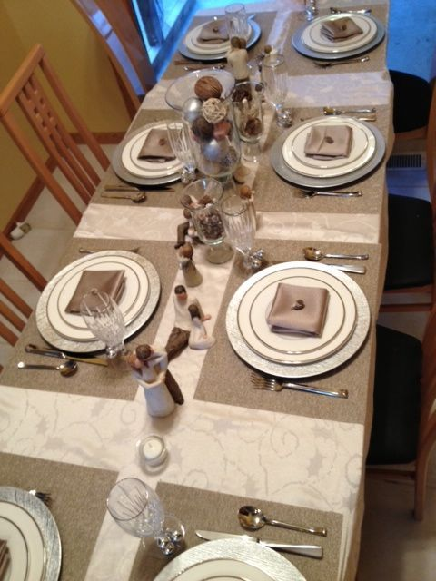 New Nostalgia – Using Willow Tree Figurines For a Beautiful  Tablescape