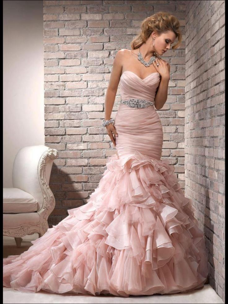 Mejores 362 imágenes de Wedding Dresses en Pinterest | Vestidos de ...
