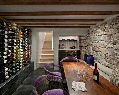 Camino Santander  Santa Fe Residence, Modern Wine Cellar