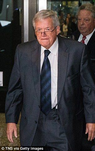 Former House Speaker Dennis Hastert (pictured in October) has been accused of sexual abuse by at least four boys, including one he paid $1.7million in alleged hush money to, according to a report