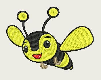 Bumble Bee (140 x 140 Hoop) by Judean888 on Etsy