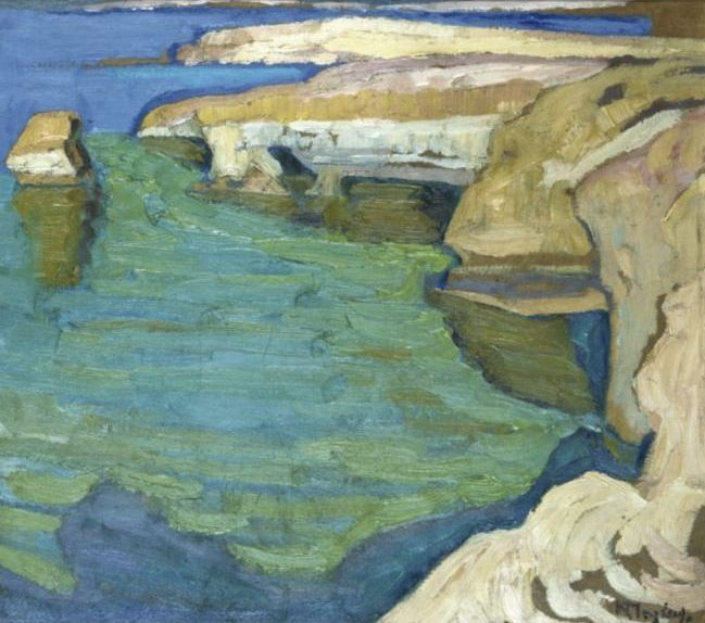 Konstantinos Maleas  (1879 -1928) was one of the most important Post-impressionist Greek painters of the 20th century.