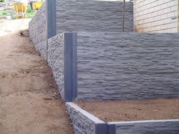 Creative Sleepers Concrete Sleepers Retaining Walls Betonschwellen Stutzmauer Hintergarten