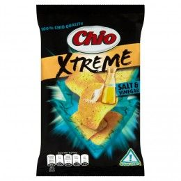 Chio Chips Xtreme salt & vinegar - Online supermarket Rohlik.cz - dovoz nákupu už do 90 minut