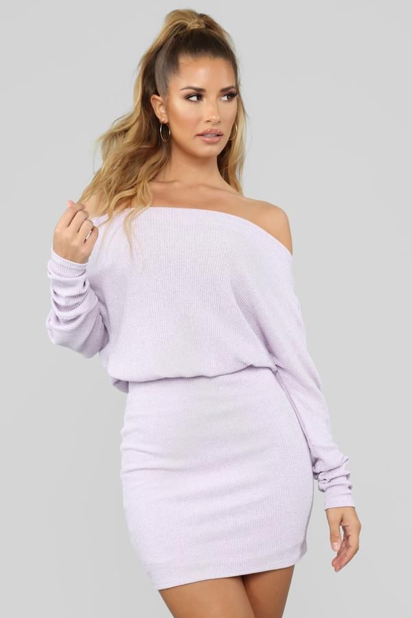 5d5016bbddbb5 Never Stopped Loving You Sweater Dress - Lavender in 2019 | CLOTHES ...