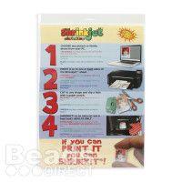 Shrinkles Shrinkjet A4 Printable Shrink Plastic Sheets Pk6