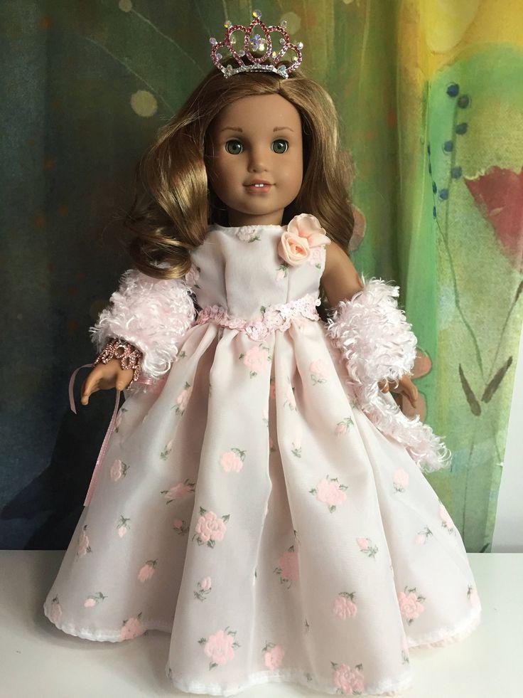 A personal favorite from my Etsy shop https://www.etsy.com/listing/472082832/american-girl-custom-ooak-pink-rosebud