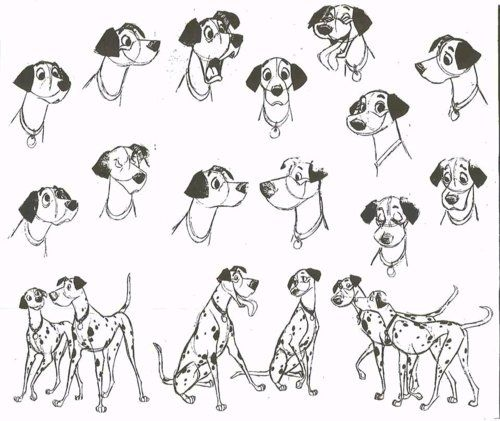 http://scurviesdisneyblog.tumblr.com/post/100148602838/pongo-model-sheet-and-character-designs