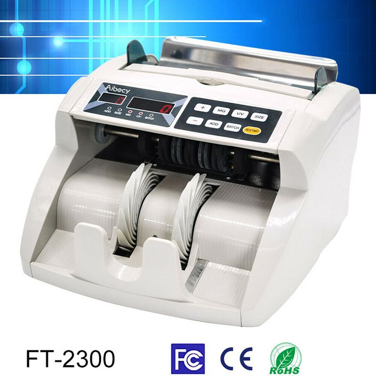 (Sponsored)(eBay) Aibecy Bank Bill Counter Money Counting ...