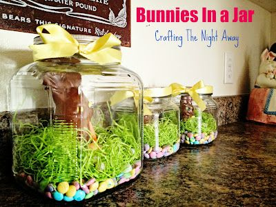 bunnies in a jar....