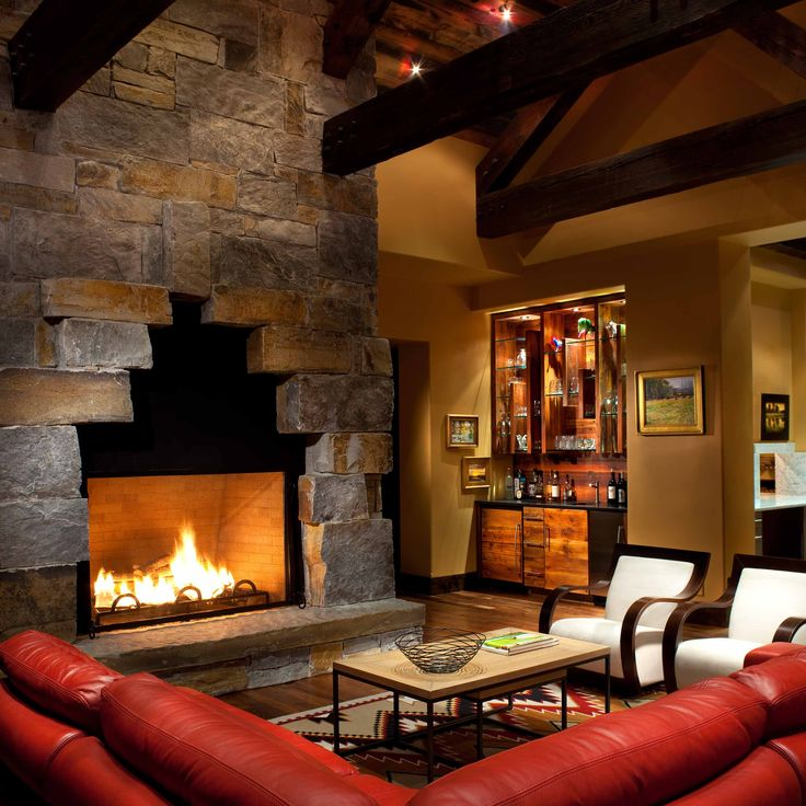Stone Fireplace Crisp Architects: 1000+ Images About Interior Fireplaces On Pinterest