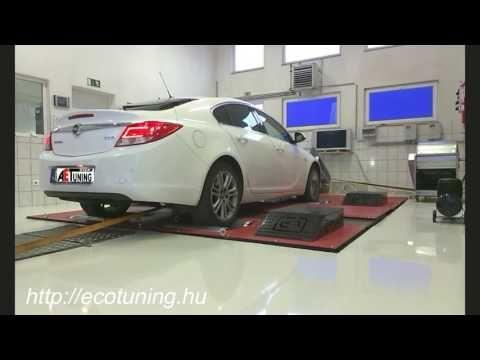 Opel Insignia 2.0CDTI 130LE AET CHIPtuning Referencia Videó Teljesítmény...