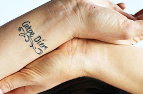 Carpe Diem - Tattoo idea