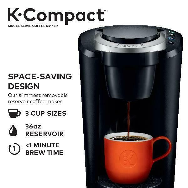 Details About Keurig K Cup Pod Coffee Maker Single Serve Brew Compact Kitchen Brewing Machine In 2020 Single Coffee Maker Pod Coffee Makers Coffee Maker